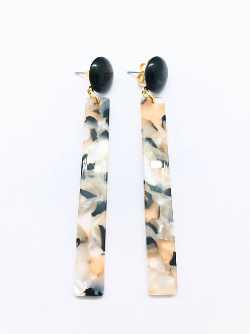 It's resin - black spotted