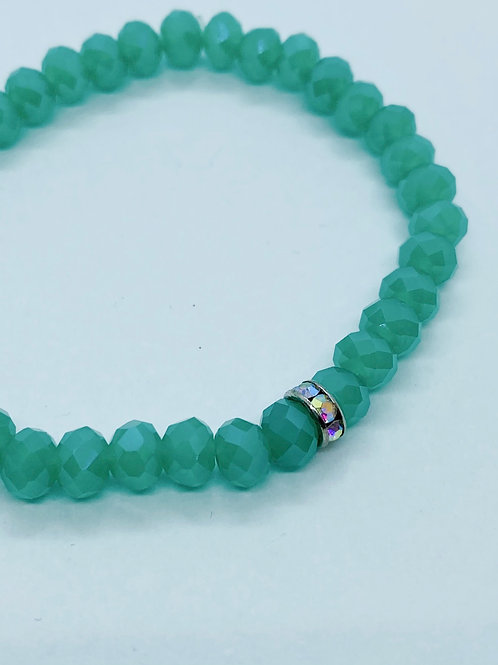 Bracel'its - bright mint facet