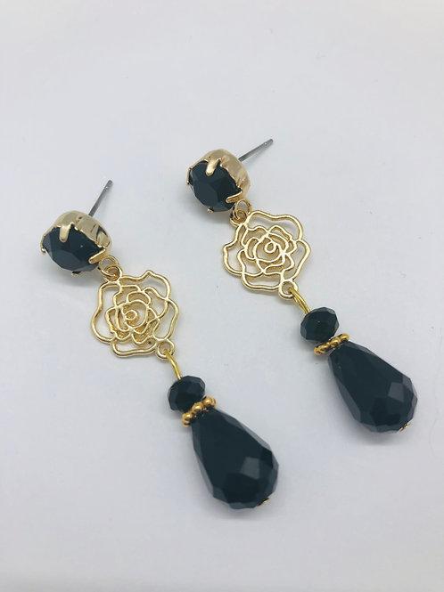 It's black - gold & black & swarovski