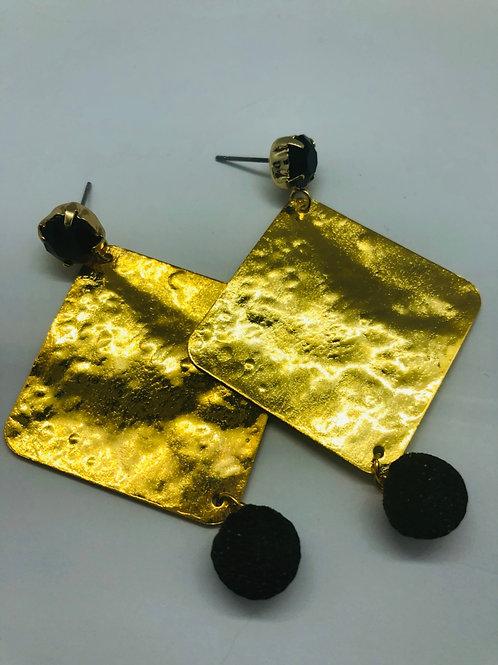It's gold - gold & black