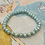 Thumbnail: Bracel'its - baby blue with touch of gold