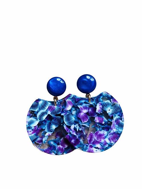 It's resin - blue violets
