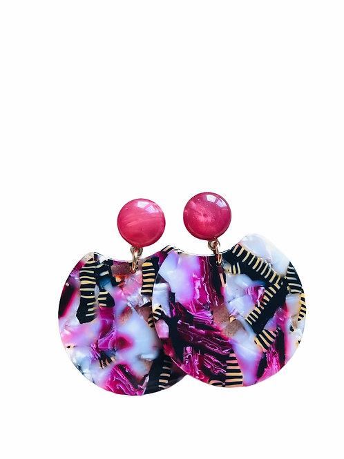 It's resin -pink zebra