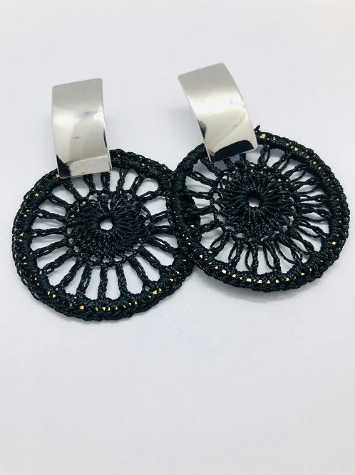It's silver - black & silver