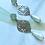 Thumbnail: It's silver - mint boho flower