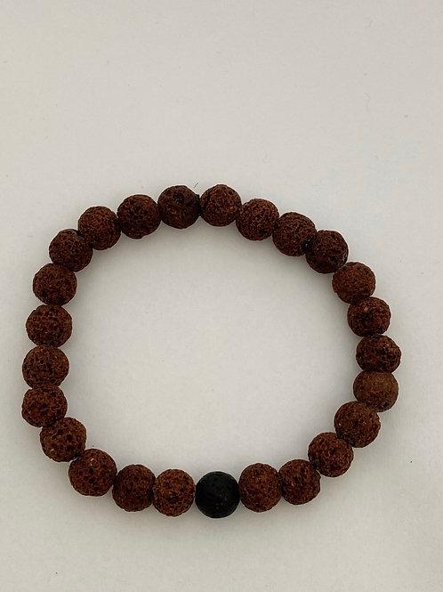 Bracel'its - men lava brown