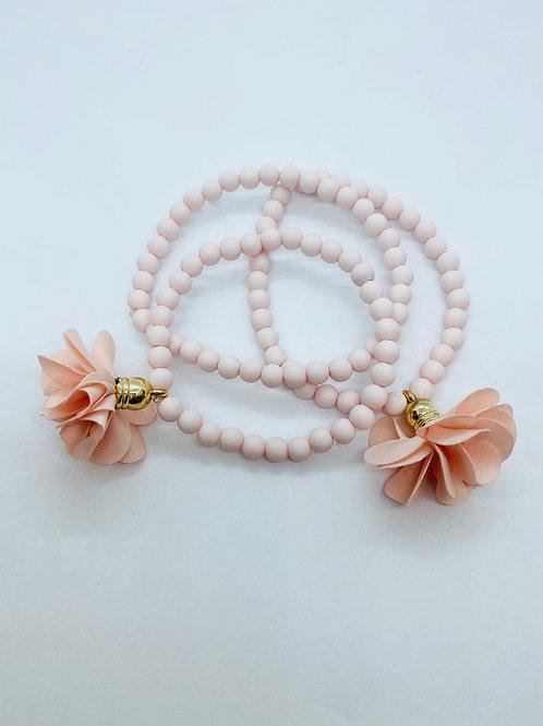 Bracel'its - set 3 baby roze & flower