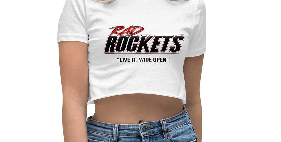 Women's Crop Top (Rad Rockets)