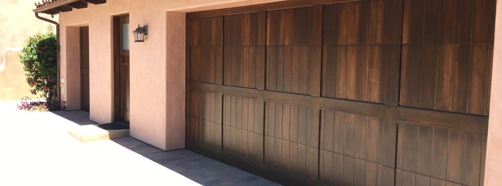 Mahogany Custom Door