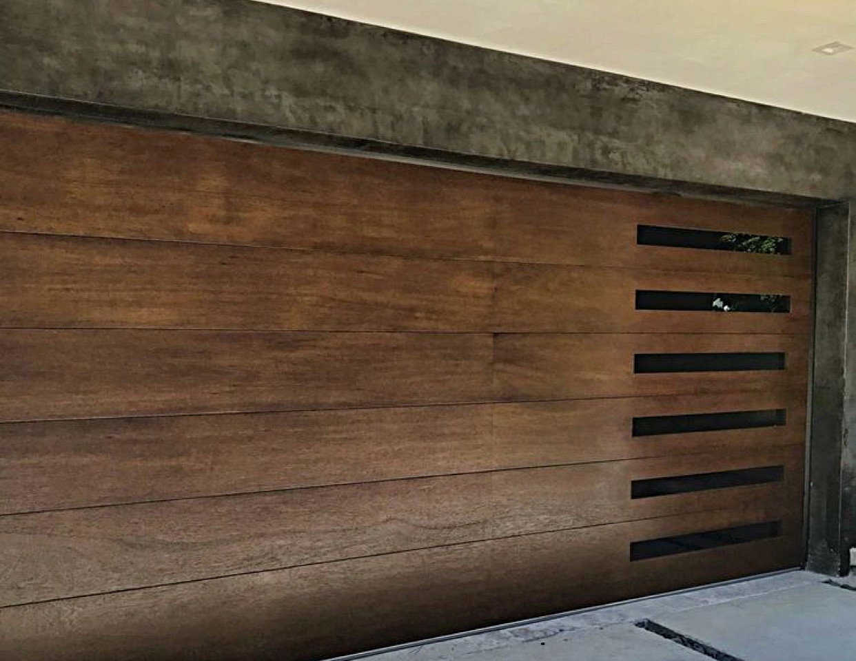 Walnut Custom Door