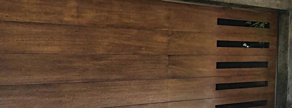 Walnut Custom Door