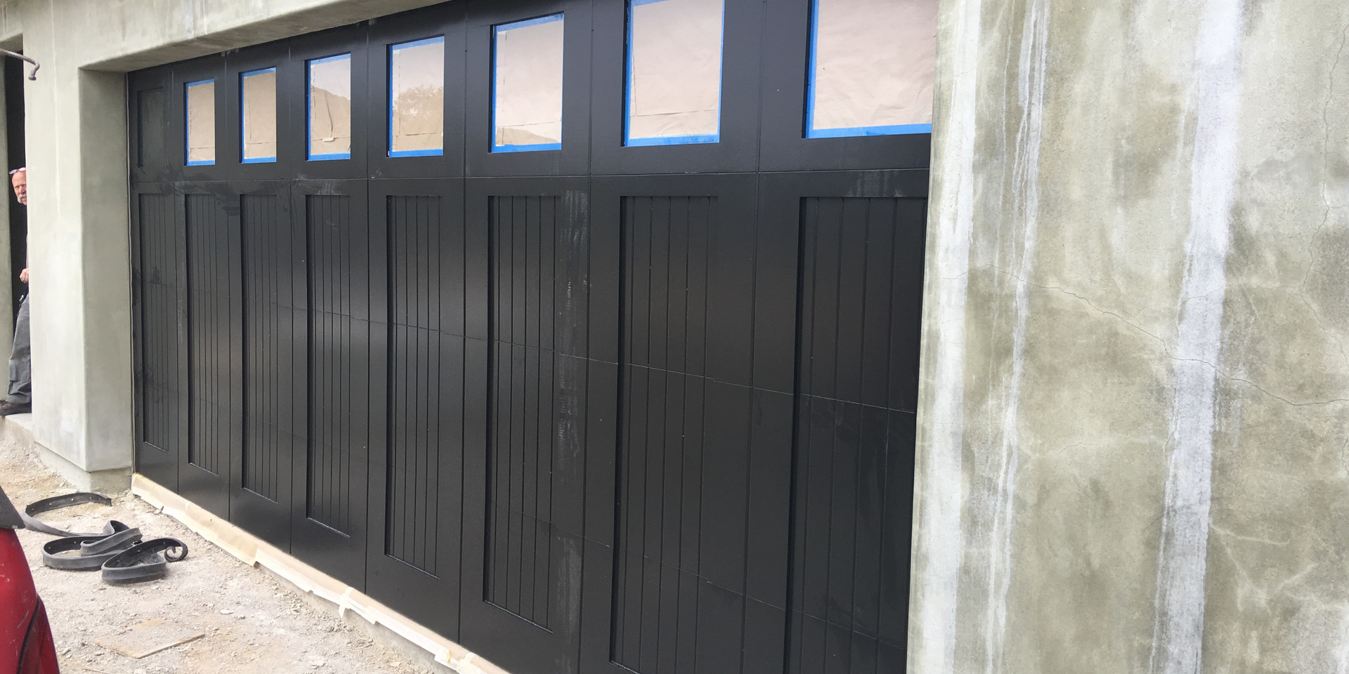 Paint Grade Custom Wood Door