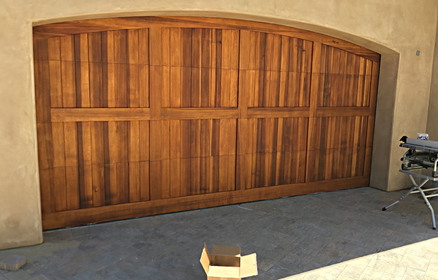Red Cedar Custom Door