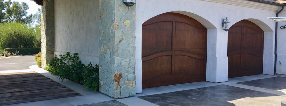 Mahogany Custom Doors