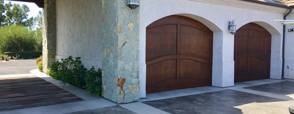 Mahogany Custom Doors