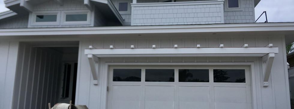 Paint Grade Custom Wood Door