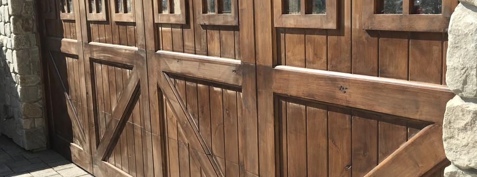 Alder Custom Wood Door