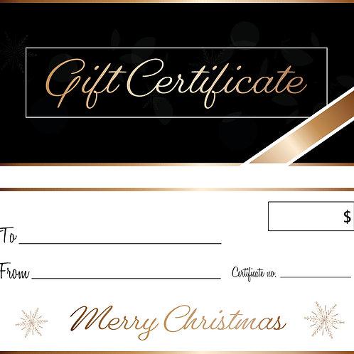 Gift Certificate - Estate Plan