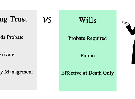 Living Trust vs. Last Will & Testament
