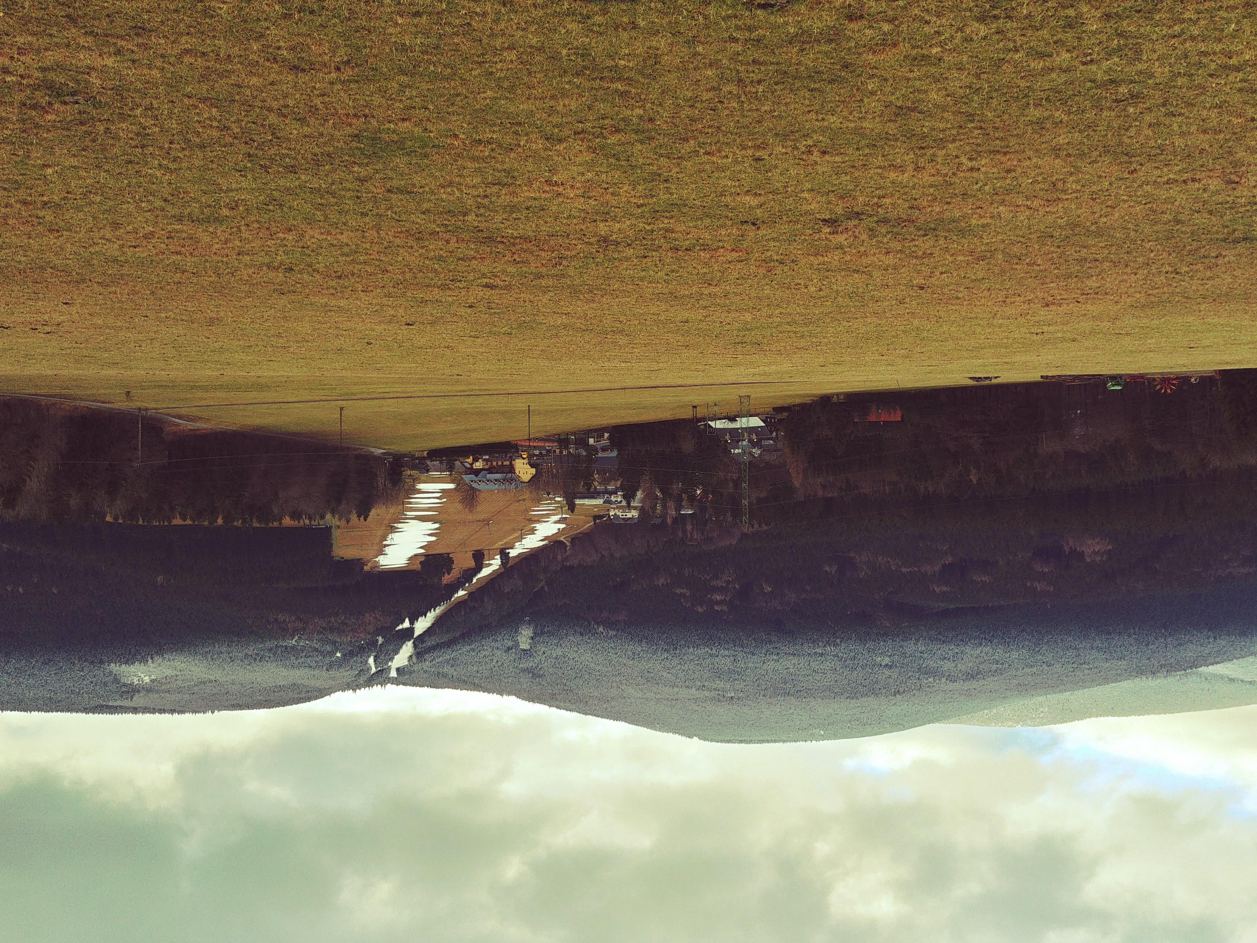 běžkařská stopa na Ramzovou