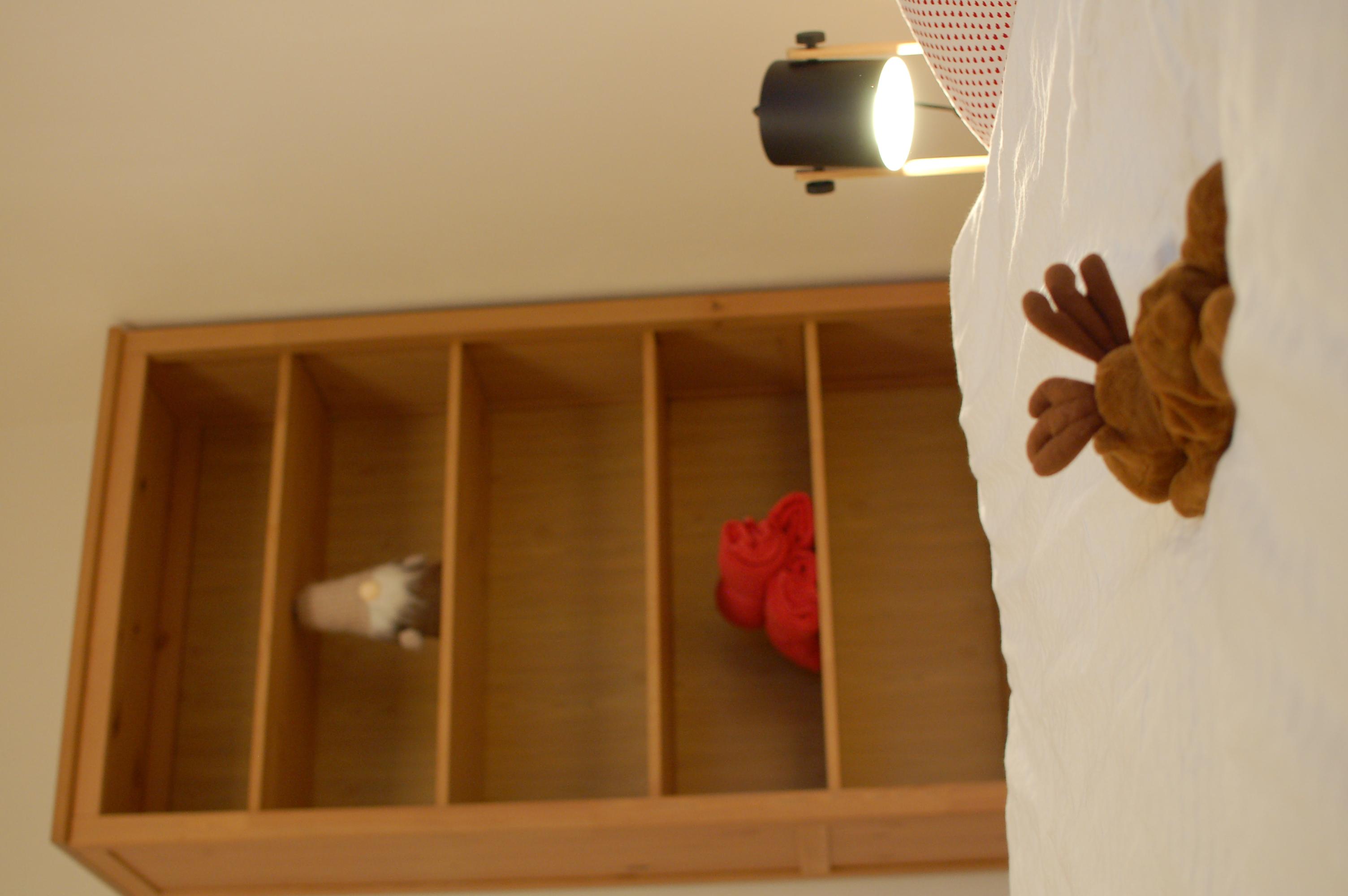 ložnice se skříní