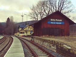 nádraží Horní Lipová