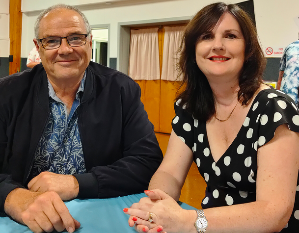Ken Turner and Michelle Clayton Waitakere Local Board Members.