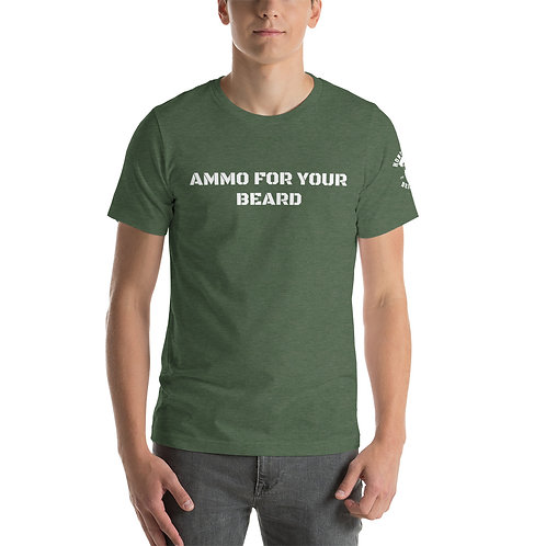 Ammo for your Beard Unisex T-Shirt