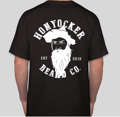 "Black ""GHOST"" T-Shirt"