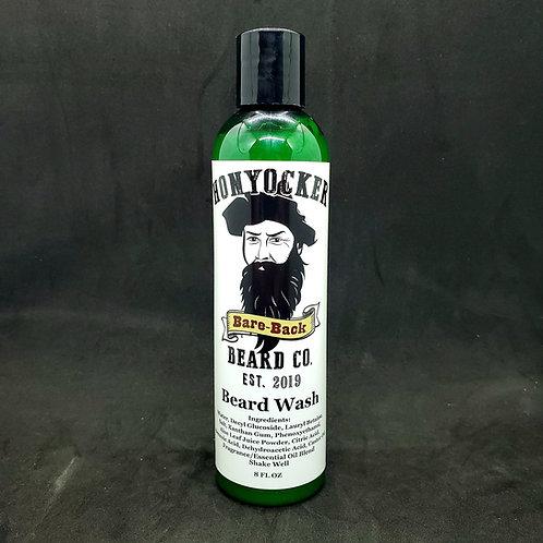 Bare-Back Beard Wash