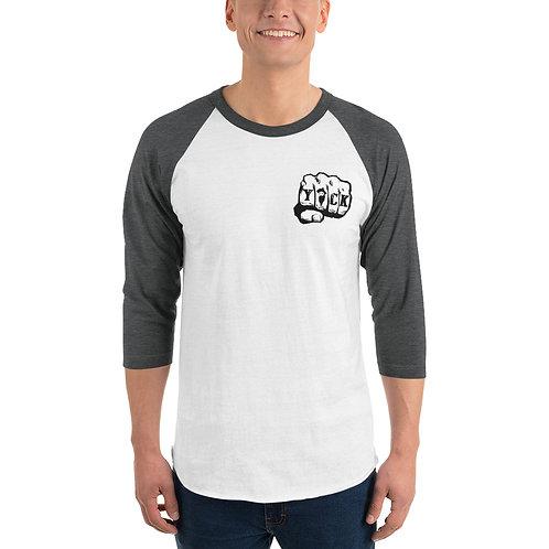 Yock Knucks 3/4 sleeve raglan shirt