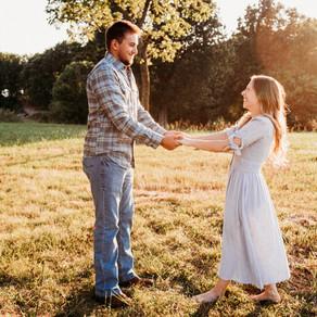 Whimsical Summer Engagement Photos
