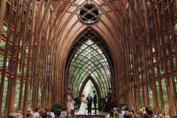 mildred b cooper chapel wedding