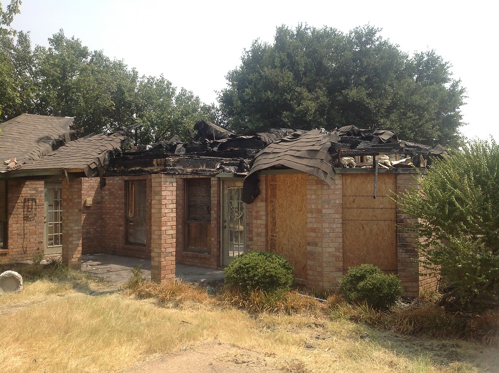 We Pay Cash for your Fire Damaged House