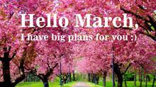 Μάρτιος. Μήνας δράσης