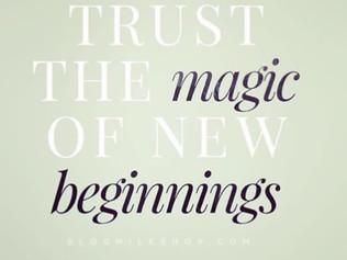 Εμπιστεύσου τη μαγεία του νέου ξεκινήματος!
