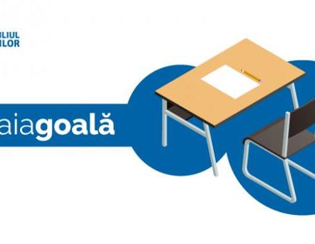 #foaiagoală, o forma pașnică de protest