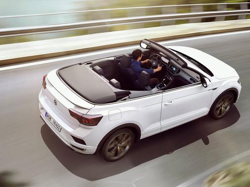 T-Roc Cabriolet: O SUV que o deixa de cabelos ao vento!