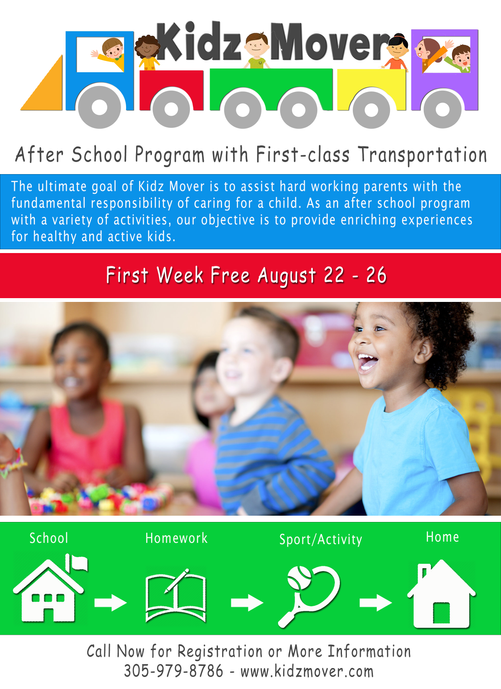 Flyer for Kidz Mover