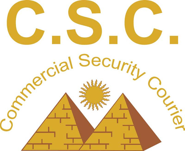Commercial Security Courier Logo