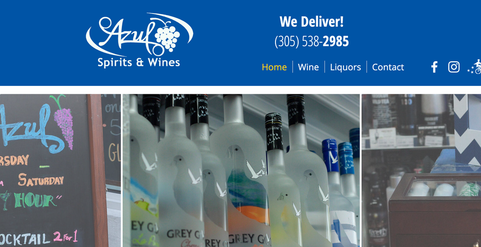Azul Spirits & Wine
