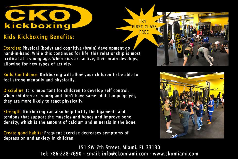 CKO Kickboxing postcard