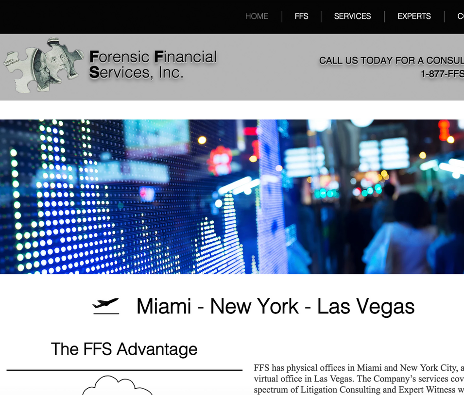 Forensic Financial Services