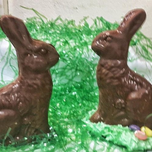 """6"""" Solid Chocolate Bunny"""