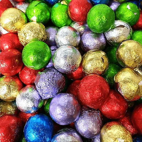 Foiled Chocolate Balls
