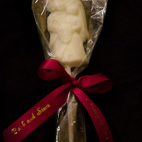 Bride and Groom Lollipop