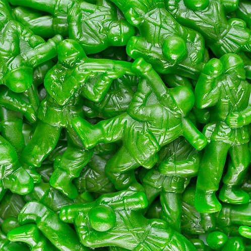 Gummy Army Guys