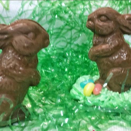 "3"" Chocolate Bunny"