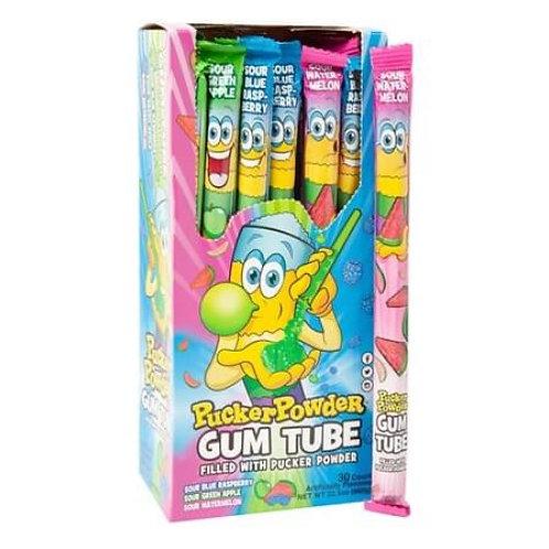 Pucker Powder Gum Tube