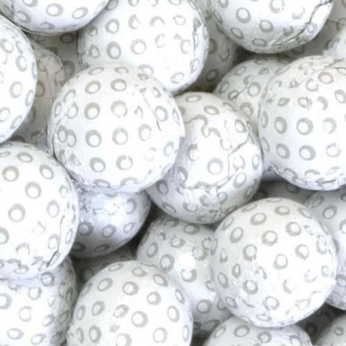 Foil-wrapped Chocolate Golf Balls